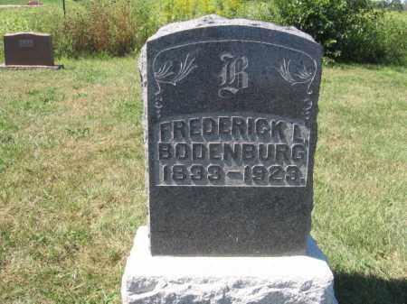 BODENBURG, FREDERICK L - Tazewell County, Illinois | FREDERICK L BODENBURG - Illinois Gravestone Photos