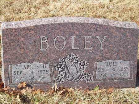 BOLEY, SUSIE V - Tazewell County, Illinois | SUSIE V BOLEY - Illinois Gravestone Photos
