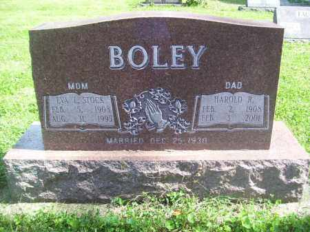 STOCK BOLEY, EVA L - Tazewell County, Illinois | EVA L STOCK BOLEY - Illinois Gravestone Photos