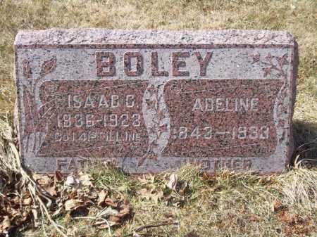 BOLEY, ISAAC C - Tazewell County, Illinois | ISAAC C BOLEY - Illinois Gravestone Photos