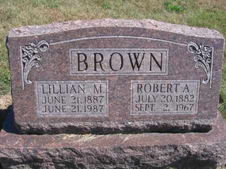 BROWN, ROBERT A - Tazewell County, Illinois | ROBERT A BROWN - Illinois Gravestone Photos