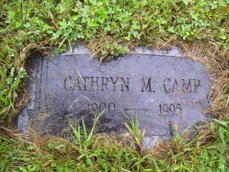 CAMP, CATHRYN M - Tazewell County, Illinois   CATHRYN M CAMP - Illinois Gravestone Photos