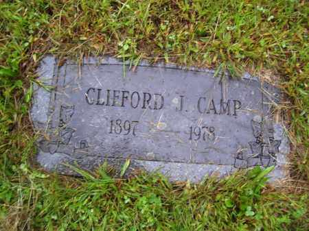 CAMP, CLIFFORD J - Tazewell County, Illinois | CLIFFORD J CAMP - Illinois Gravestone Photos