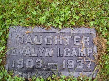 CAMP, EVALYN I - Tazewell County, Illinois | EVALYN I CAMP - Illinois Gravestone Photos