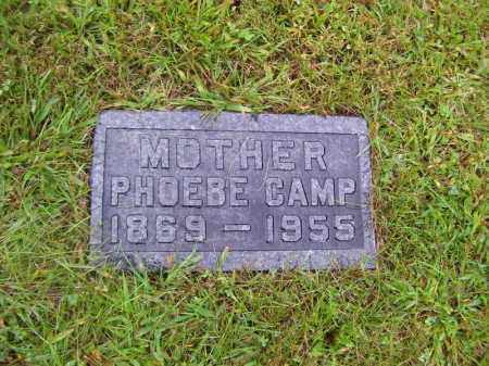 CAMP, PHOEBE - Tazewell County, Illinois | PHOEBE CAMP - Illinois Gravestone Photos
