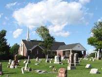 *CHURCH, . - Tazewell County, Illinois   . *CHURCH - Illinois Gravestone Photos
