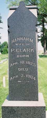 CLARK, HANNAH M. - Tazewell County, Illinois   HANNAH M. CLARK - Illinois Gravestone Photos