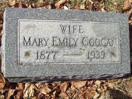 COOGAN, MARY EMILY - Tazewell County, Illinois | MARY EMILY COOGAN - Illinois Gravestone Photos