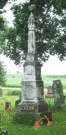 CRESS, MONUMENT - Tazewell County, Illinois | MONUMENT CRESS - Illinois Gravestone Photos