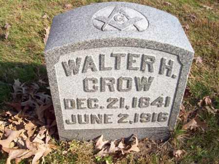 CROW, WALTER H - Tazewell County, Illinois | WALTER H CROW - Illinois Gravestone Photos