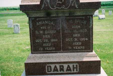 DARAH, R.W. - Tazewell County, Illinois | R.W. DARAH - Illinois Gravestone Photos