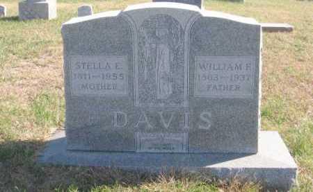 DAVIS, STELLA - Tazewell County, Illinois   STELLA DAVIS - Illinois Gravestone Photos