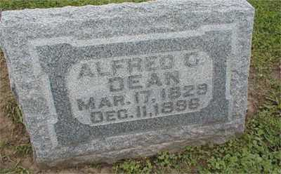 DEAN, ALFRED CARTEE - Tazewell County, Illinois | ALFRED CARTEE DEAN - Illinois Gravestone Photos