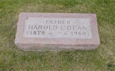 DEAN, HAROLD LEONARD - Tazewell County, Illinois | HAROLD LEONARD DEAN - Illinois Gravestone Photos