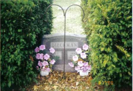 DIECKMAN, GRACE ALLEN - Tazewell County, Illinois | GRACE ALLEN DIECKMAN - Illinois Gravestone Photos