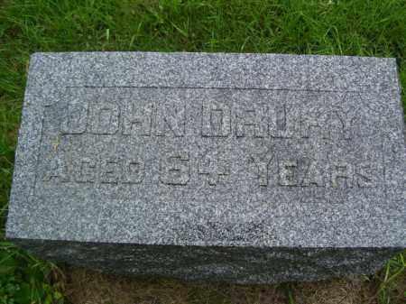 DRURY, JOHN - Tazewell County, Illinois | JOHN DRURY - Illinois Gravestone Photos