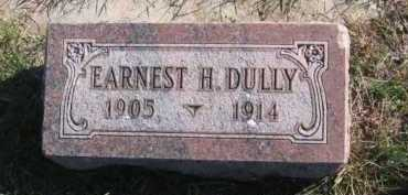 DULLY, EARNEST H - Tazewell County, Illinois   EARNEST H DULLY - Illinois Gravestone Photos