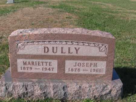 GEAREN DULLY, MARIETTE - Tazewell County, Illinois | MARIETTE GEAREN DULLY - Illinois Gravestone Photos