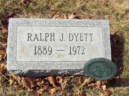 DYETT, RALPH J - Tazewell County, Illinois | RALPH J DYETT - Illinois Gravestone Photos