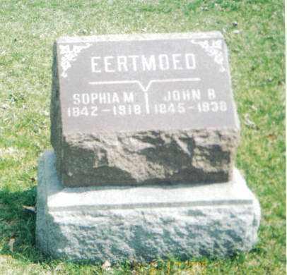EERTMOED, SOPHIA M - Tazewell County, Illinois   SOPHIA M EERTMOED - Illinois Gravestone Photos