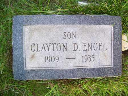 ENGEL, CLAYTON D - Tazewell County, Illinois | CLAYTON D ENGEL - Illinois Gravestone Photos