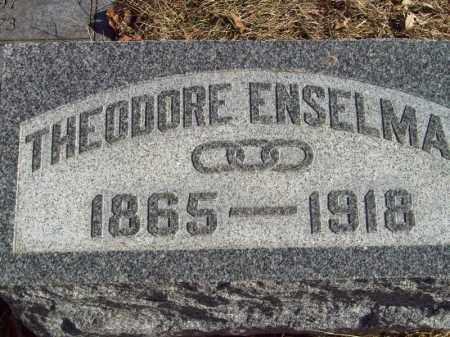 ENSELMAN, THEODORE - Tazewell County, Illinois | THEODORE ENSELMAN - Illinois Gravestone Photos