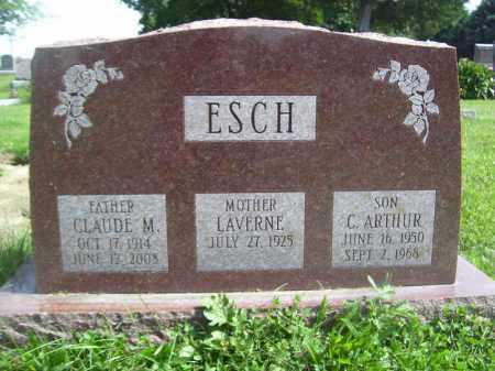 ESCH, CLAUDE M - Tazewell County, Illinois | CLAUDE M ESCH - Illinois Gravestone Photos