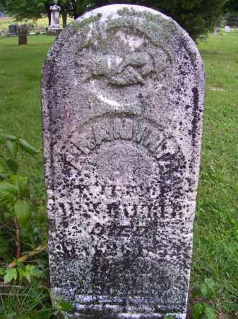 FAUBER, ARAMINTA WSET - Tazewell County, Illinois   ARAMINTA WSET FAUBER - Illinois Gravestone Photos