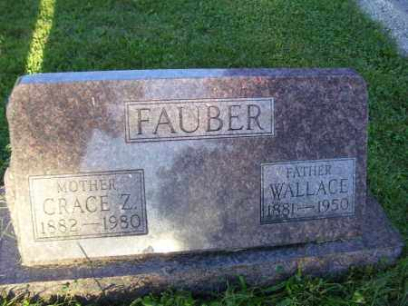 FAUBER, GRACE Z - Tazewell County, Illinois | GRACE Z FAUBER - Illinois Gravestone Photos
