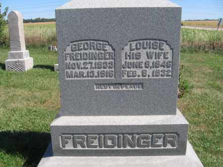 FREIDINGER, GEORGE - Tazewell County, Illinois | GEORGE FREIDINGER - Illinois Gravestone Photos