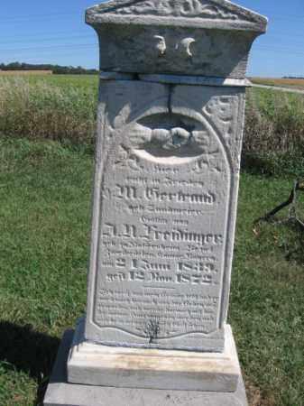 FREIDINGER, M. GERTRAUD - Tazewell County, Illinois | M. GERTRAUD FREIDINGER - Illinois Gravestone Photos