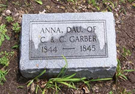 GARBER, ANNA - Tazewell County, Illinois | ANNA GARBER - Illinois Gravestone Photos