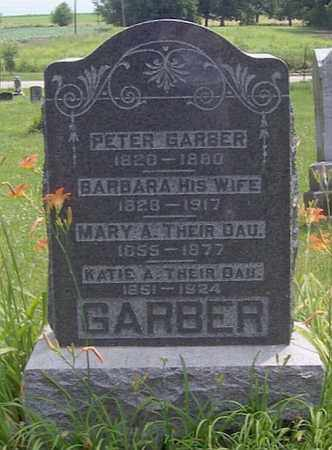 GARBER, PETER - Tazewell County, Illinois | PETER GARBER - Illinois Gravestone Photos