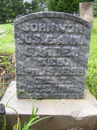 GARBER, SON - Tazewell County, Illinois | SON GARBER - Illinois Gravestone Photos