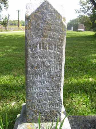 GRONEWOLD, WILLIE - Tazewell County, Illinois | WILLIE GRONEWOLD - Illinois Gravestone Photos