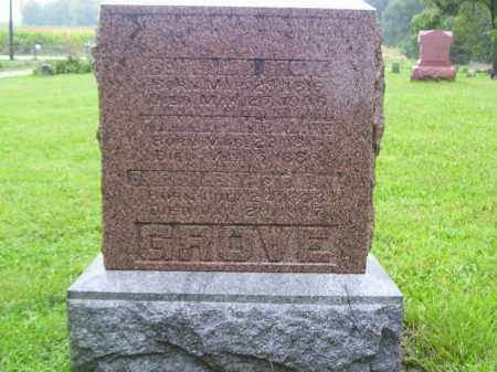 GROVE, SARAH E - Tazewell County, Illinois | SARAH E GROVE - Illinois Gravestone Photos