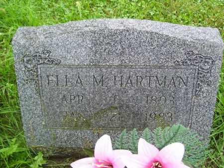 HARTMAN, ELLA M - Tazewell County, Illinois | ELLA M HARTMAN - Illinois Gravestone Photos