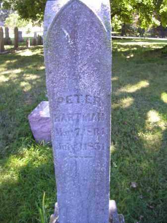 HARTMAN, PETER - Tazewell County, Illinois   PETER HARTMAN - Illinois Gravestone Photos
