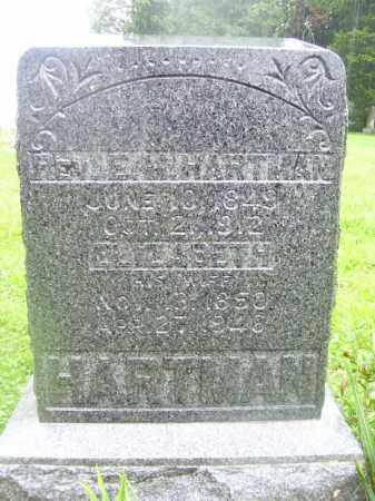 HARTMAN, REV. E - Tazewell County, Illinois   REV. E HARTMAN - Illinois Gravestone Photos