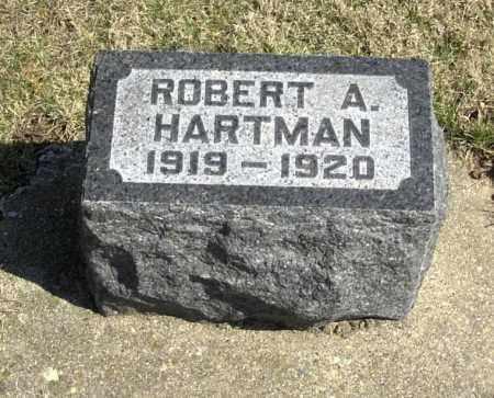 HARTMAN, ROBERT A - Tazewell County, Illinois | ROBERT A HARTMAN - Illinois Gravestone Photos