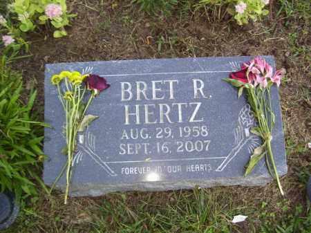 HERTZ, BRET R - Tazewell County, Illinois | BRET R HERTZ - Illinois Gravestone Photos