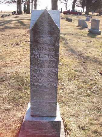 HESS, ANNA E - Tazewell County, Illinois | ANNA E HESS - Illinois Gravestone Photos
