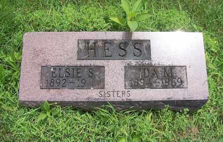HESS, ELSIE S - Tazewell County, Illinois | ELSIE S HESS - Illinois Gravestone Photos