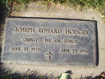 HODGES, JOSEPH EDWARD - Tazewell County, Illinois   JOSEPH EDWARD HODGES - Illinois Gravestone Photos