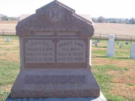 HODGSON, MARY ANN - Tazewell County, Illinois | MARY ANN HODGSON - Illinois Gravestone Photos