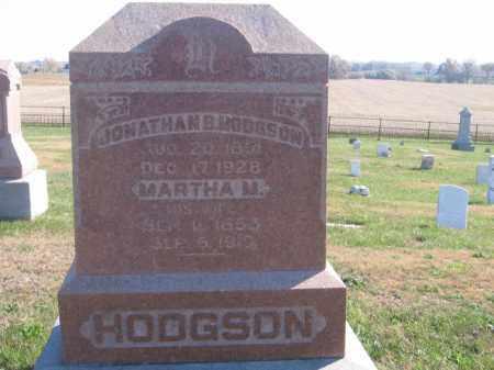 HODGSON, MARTHA M - Tazewell County, Illinois | MARTHA M HODGSON - Illinois Gravestone Photos