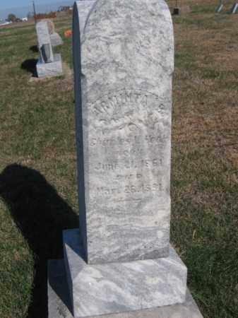 HOOK, ARMINTA B - Tazewell County, Illinois   ARMINTA B HOOK - Illinois Gravestone Photos