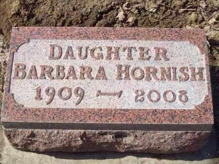 HORNISH, BARBARA - Tazewell County, Illinois | BARBARA HORNISH - Illinois Gravestone Photos
