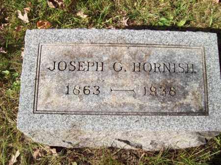 HORNISH, JOSEPH G - Tazewell County, Illinois | JOSEPH G HORNISH - Illinois Gravestone Photos