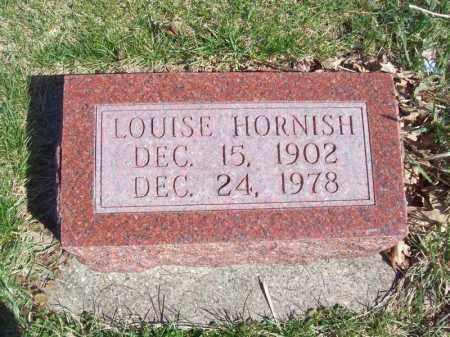 HORNISH, LOUISE - Tazewell County, Illinois | LOUISE HORNISH - Illinois Gravestone Photos
